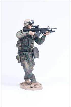 McFarlane's Military Second Tour of Duty Army Paratrooper action figure toy soldier