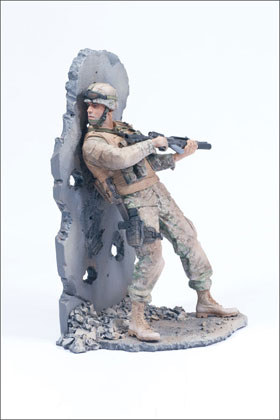 McFarlane's Military Second Tour of Duty Marine action figure toy