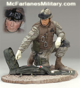 McFarlane's Military Figure - Series 4 Navy Field Medic action figure