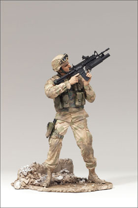 McFarlane's Military Redeployed Series 2 Army Infantry - Toy Soldier