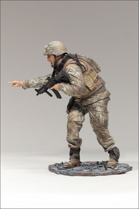 McFarlane's Military Redeployed Series 2 Marine Lieutenant - Army Toy