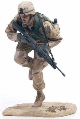 McFarlane's Military Series 1 Air Force Special Operations Command toy soldier