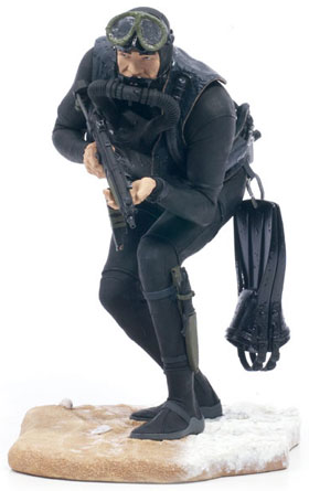 McFarlane's Military Series 1 Navy Seal action figure toy