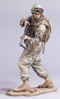 McFarlane's Military Series 3 Marine RCT action figure toy