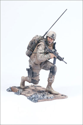 McFarlane's Military Second Tour of Duty Marine Radioman action figure toy