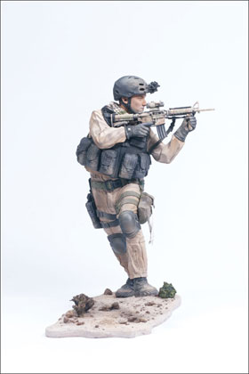 McFarlane's Military 2nd Tour of Duty Navy Seal Commando action figure toy
